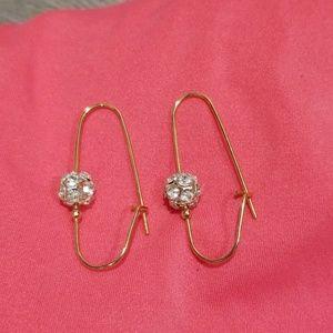 ⚪2/$30⚪Touch of Bling Earrings
